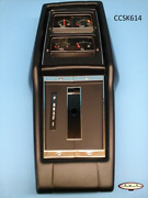 68 - 72 Nova Assembled Console, Automatic Transmission With Factory Gauges