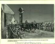1981 Press Photo The Budweiser Clydesdales Lead Knoxville World's Fair Parade