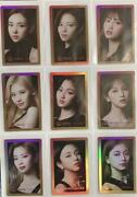 Twice Collectible Merch Trading Cards Set Of 9 From Japan Free Shipping