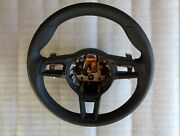 991 - 991.2 997.2 911 Gt 3 Rs Pdk Shift Black Leather Gt Small Steering Wheel