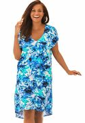 Swimsuits For All Women's Plus Sizehigh-low Cover Up Swimsuit Cover Up -
