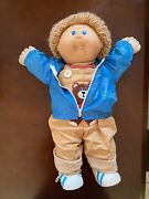 Cabbage Patch Doll Rare-ian Roscoe Boy-xavier Roberts-signed-collectible