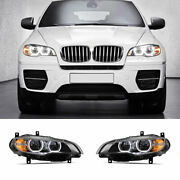 For Bmw X6 E71 Led Headlights Projector Led Drl 2008-2015 Replace Oem Halogen
