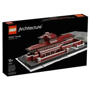 Lego Architecture Robie House 21010 New And Sealed ---safe Shipping---