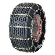 Wide Base Twisted Square Link Alloy Cam 325/65-18 Truck Tire Chains