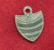 Antique Civil War Soldiersand039 Id Tag Dog Tag Identification Tag 1800and039s Mint Cond.