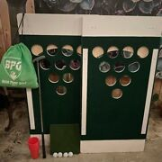 Beer Pong Golf Set Drinking Lawn Game - Tailgating/party/bbq/event/