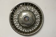 Oem 14 Wire Type Hub Cap Wheel Cover 25531010 1987-88 Buick Lesabre W136