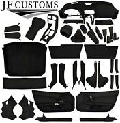 Tan Stitch Leather Covers For Corvette C6 05-13 Full Interior Recovery Kit