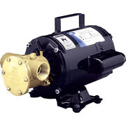 Jabsco 6050-0003 Utility Pump With Open Drip Proof Motor - 115v
