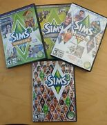 The Sims 3 Game Pc W/ 3 Expansion Packs. University, Town, High End Stuff.