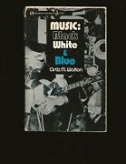 Music Black White And Blue Only Signed Copy Inscribed To Dizzy Gillespie