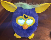 Hasbro 2012 Furby Starry Night Blue And Yellow Working Requires Furby App
