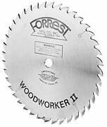 Forrest Woodworker Ii 16 30 Tooth Atb 11/64-inch Kerf Saw Blade 1 Arbor