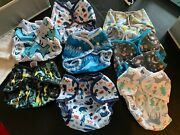Thirties Cloth Diaper Set - 19 Diapers 10 Duo-wrap Covers452