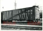 Off197 Rp 1946/70s Ann Arbor Railroad Freight Boxcar 73839 Norristown Pa