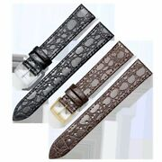 Genuine Leather Watch Band Strap Wristwatch Band For Longines 13mm 18mm 20mm