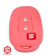 1x New Keyfob Remote Fobik Silicone Cover Fit / For Select Toyota Vehicles