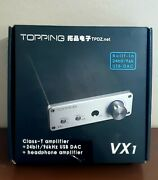 Topping Vx1 Class-t Amplifier Integrated Amplifier Power Supply Voltage 100v