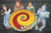 Wizard Of Oz Franklin Mint Children's Table And Chair Set -very Rare/brand New
