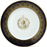 Sevres Darte Freres Old Paris Cabinet Plate Museum Quality No Chips Japan