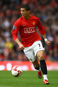 Manchester United Ronaldo Cr7 Poster 24x36 Inches