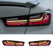 Led Taillights Assembly For Bmw 3 Series G20 Dark/red Led Rear Lights 2019-2021