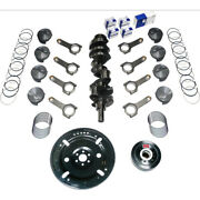 Scat Rotating Assembly 1-45010be Competition Std Wt Forged For Ford Sbf