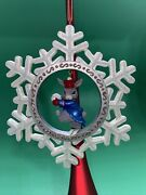 Christopher Radko Stormy Snowflake Woodland Winds Collection 00-848-0