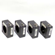 4 Square D Current Transformers 2 180r-401, 1 180r-601, And 1 180r-801