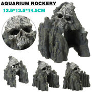 Rockery Hiding Mountain Ornament Landscape Cave Aquarium Fish Tank Decoration