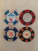 Casino Chip Collection From Puerto Rico