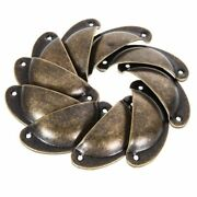 10/20/30pcs Kitchen Cupboard Door Cabinet Cup Drawer Furniture Pull Shell Handle