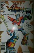 Voltron 1 First Appearance 1984 Modern Comic Book Fnvf