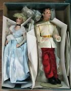 Disney Store Bisque Cinderella Charming 20 Limited Edition Doll Retired