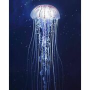 Jellyfish Portrait Diamond Painting House Displays Decorations Embroidery Design