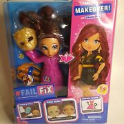 Failfix Take Over The Makeover Doll Loves Glam Surprise Fashion 2020 New Sealed