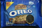 New Nabisco Family Size Oreo Java Chip Coffee Chocolate Cookies 17 Oz 482g Pack