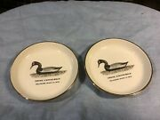 2 Ducks Unlimited 1982 Coasters Springfield Chapter Delaware River Ca.