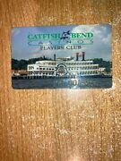 Catfish Bend Casino Riverboat Picture Slot Card Burlington And Fort Madison Ia