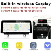 Android 10 Car Gps Wifi Auto Multimedia Carplay 4+64g For Bmw 3 4 Series F30 F31