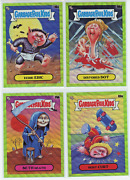 2020 Topps Garbage Pail Kids Gpk Chrome Green Wave Refractor /299 Pick From Lot