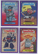 2020 Topps Garbage Pail Kids Gpk Chrome Purple Wave Refractor /250 Pick From Lot