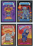 2020 Topps Garbage Pail Kids Gpk Chrome Black Wave Refractor /99 - Pick From Lot