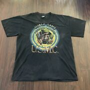Vintage Uncle Sam's Misguided Children Usmc Marines T Shirt Rothko Tag Size Xl