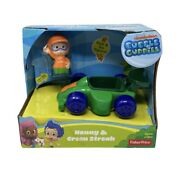 Fisher Price Bubble Guppies Nonny And Green Streak Race Car Nickelodeon 2013