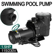 1.5hp Swimming Pool Pump Motor Hayward Replacement W/strainer In/above Ground