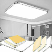 96w Dimmable Led Ceiling Light Ultra Thin Flush Mount Kitchen Lamp Home Fixture