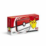 Nintendo 2ds Xl Pokemon Poke Ball Charger Stylus Case And 32 Gb Card Red And White