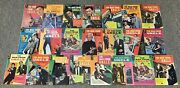1960s Man From Uncle Tv Show Comics 1-22 Full Set Man From U.n.c.l.e.